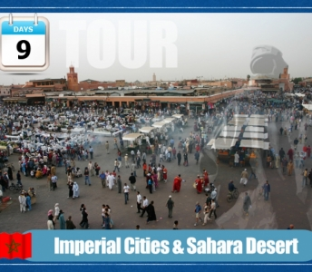 Imperial Cities and Sahara Desert